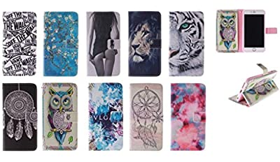 Zenfone 2 Case ASUS Zenfone 2 Kickstand Case,Bat King A Vans Off The Wall Pattern Premium Leather Wallet Flip Kicstand Case Cover With Magnetic Closure For ASUS Zenfone 2 ZE551ML