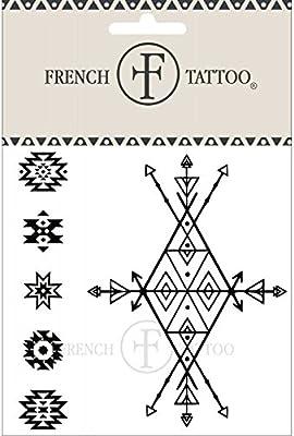 Símbolo indio – Tatuaje efímero: Amazon.es: Belleza