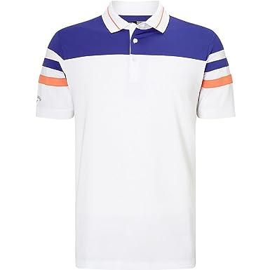 Callaway Varsity Block Polo de Golf, Hombre: Amazon.es: Ropa y ...