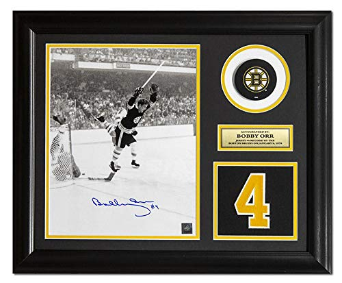 Bobby Orr Signed Jersey - Bobby Orr Autographed Jersey - Retired Number 23x19 Frame - Autographed NHL Jerseys