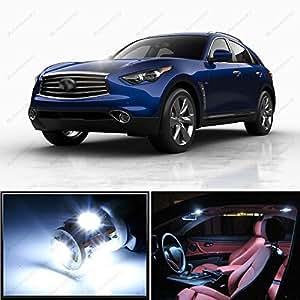 18 x premium interior xenon white led lights - Infiniti fx35 interior accessories ...