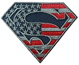 Superman S Shield Flag Logo Subdued Tactical Morale Patch by Titan One