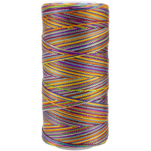 Iris 2-474 Nylon Crochet Thread, 300-Yard, Fiesta Mix
