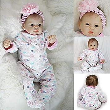Sorliva Real recién nacido 22 hecho a mano realista bebé muñeca ...