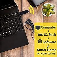 Zooz Z-Wave Plus S2 USB Stick ZST10, Great for DIY Smart