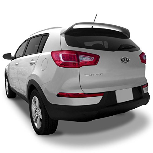 Dawn Enterprises SPORTAGE11 Custom Style Pedestal Spoiler Compatible with Kia Sportage - Signal RED (BEG)