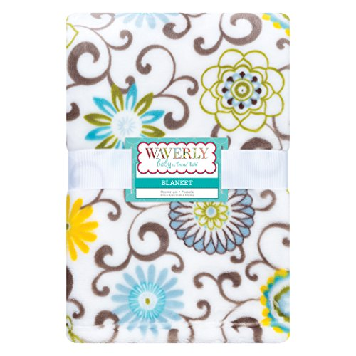 Trend Lab Plush Baby Blanket, Multi Waverly Pom Pom Spa by Trend Lab (Image #5)