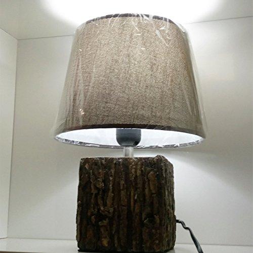 JINSH Home Keramik-Persönlichkeitswohnzimmer-Schlafzimmertischlampe des modernen unbedeutenden unbedeutenden unbedeutenden hölzernen Kornes keramische kreative B07JNT7V4P | Neuer Eintrag  3c4148