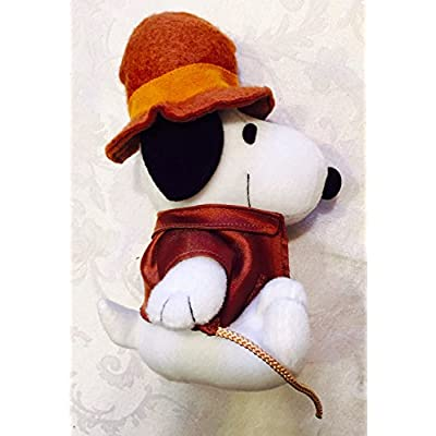 Metlife Peanuts Snoopy Plush Indiana Jones with Whip: Toys & Games