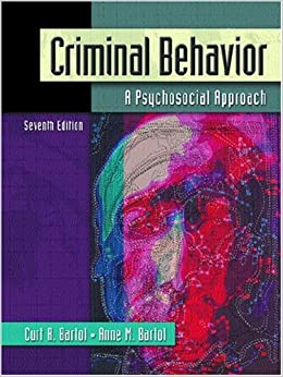 criminal behavior a psychological approach 10th edition pdf