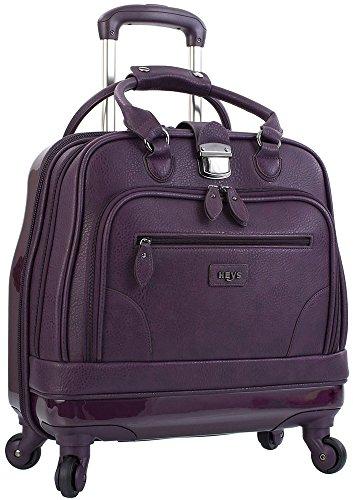 Blk Rolling Laptop Case (Heys America Nottingham Executive Business Case Rolling Luggage, Black)