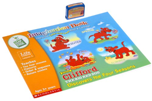 Clifford Imagination Desk Color-and-Learn Book & Cartridge