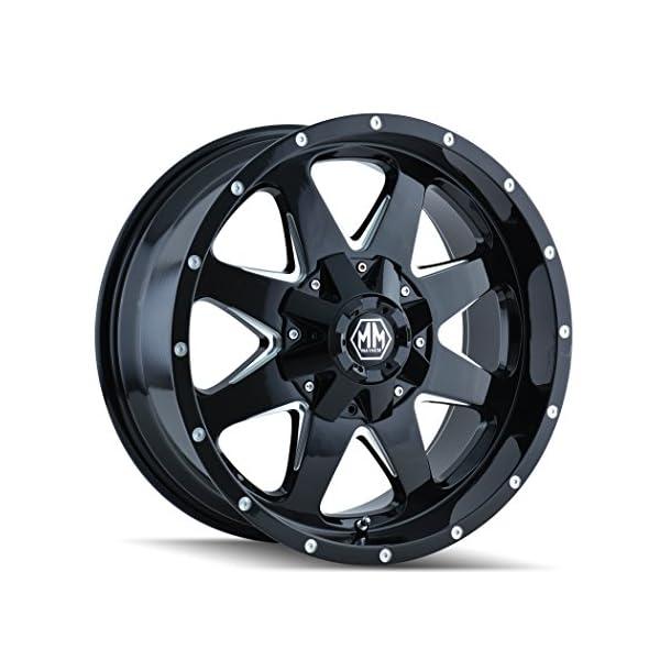 Mayhem-8040-8937B18-Tank-Wheel-with-Black-Finish-and-Milled-Spoke-18x96x135mm
