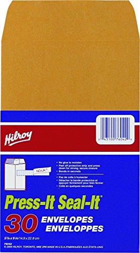 hilroy-76042-press-it-seal-it-kraft-envelopes-5-7-8x9-inch-30-per-pack