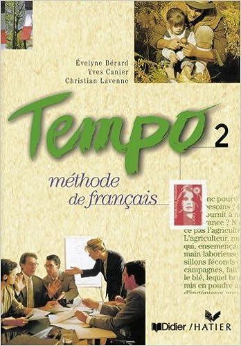 Tempo Bd 2 Livre De L Eleve Evelyne Berard Yves Canier