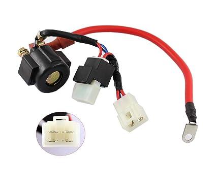amazon com: xtremeamazing new starter solenoid relay for hisun massimo  menards yardsport utv 400 msu 500 700  37710-115-0000,376800010,37700-055-0000: