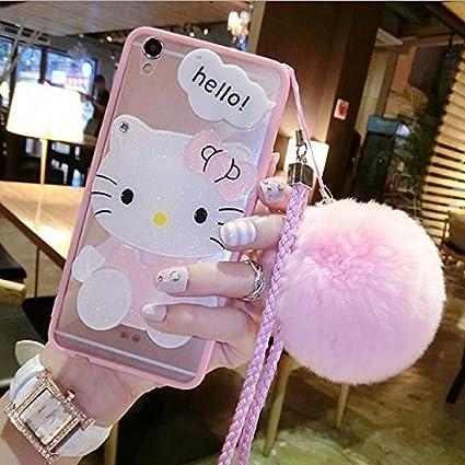 Amazon.com: hello kitty funda iPhone 5/5S/se gato funda ...