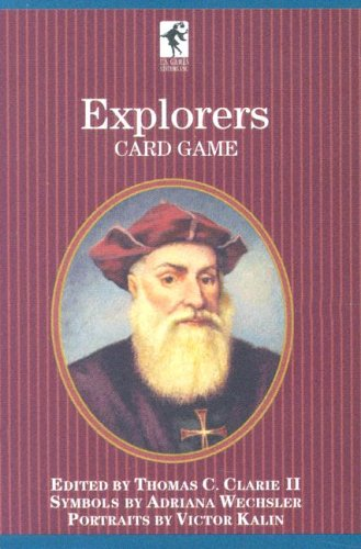 Bookcase Playing Cards Set of 3 Decks: Inventors, Explorers, and Scientists