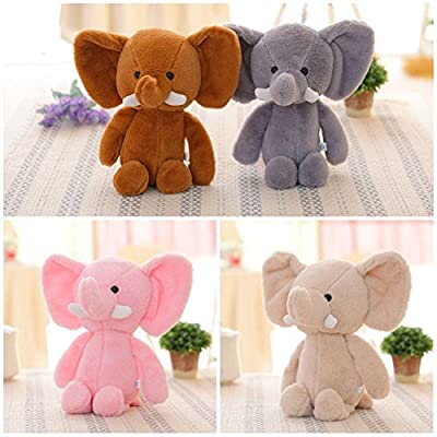 Anniston Plush Toy, Mini Lovely Elephant Stuffed Animals Kids Baby Soft Plush Toy X-mas Gift Doll Ultra Soft Furry Stuffed Animal Plush Gifts for Kids Boys Girls Small Dogs: Home & Kitchen