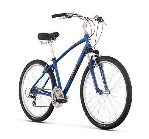 Raleigh Bikes Venture 4.0 Comfort Bike, Blue, 15″/Small Review
