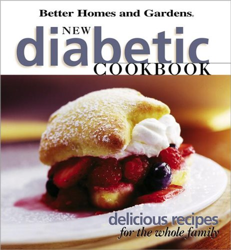 Download New Diabetic Cookbook: Delicious recipes for the whole family pdf