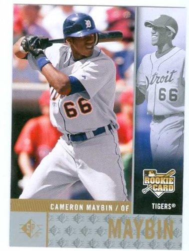 (Cameron Maybin baseball card (Tigers Atlanta Braves star) 2007 Upper Deck #SPRC6 Rookie)