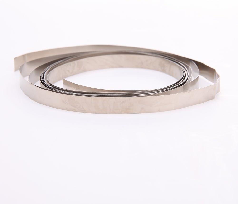 Silver Metal Ni Plate Nickel Strip Tape For Li 18650 Battery Spot Welding