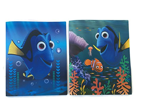 Finding 2 (Finding Dory 3 Ring Pocket Folders for School (2 pack))