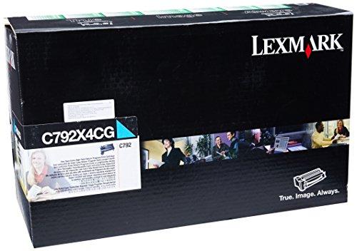 LEXC792X4CG - Lexmark Govt RtnPrg Cyn Tnr 20K Yld (Tnr Laser Color)