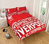 Official Liverpool FC Impact Double Duvet