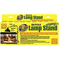 Zoo Med Reptile Lamp Stand, Economy Size, 10-20 gallon