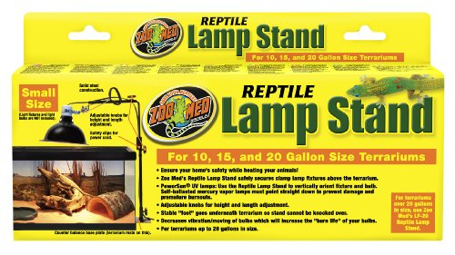 Zoo Med Reptile Lamp Stand, Economy Size (Lamp Reptile Stand)
