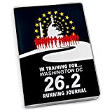 Training For Washington DC Running Journal | Paper Journal by Gone For a Run | Black