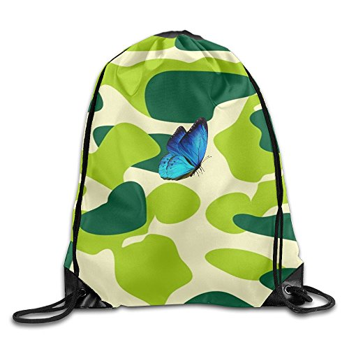 2018 Butterfly Drawstring Bags Travel Backpack For Teens College