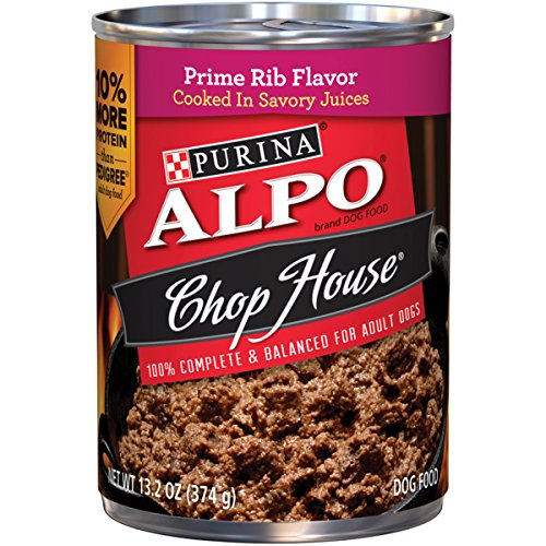 Purina ALPO Chop House Prime Rib Flavor Adult Wet Dog Food - (12) 13.2 oz. Cans