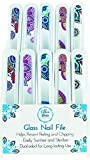 Chloe Ann 2124833 Glass Nail File - Case of 60