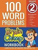 100 Word Problems : Grade 2 Math Workbook (The Brainchimp)