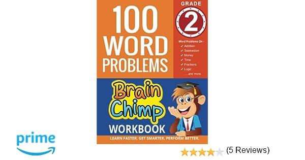 Amazon.com: 100 Word Problems : Grade 2 Math Workbook (The ...