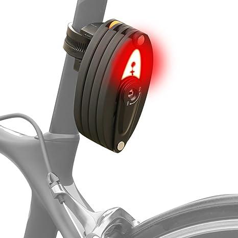 Bike Bicycle Motorcycle Chain Lock Security Anti-theft Folding Chain Lock Black