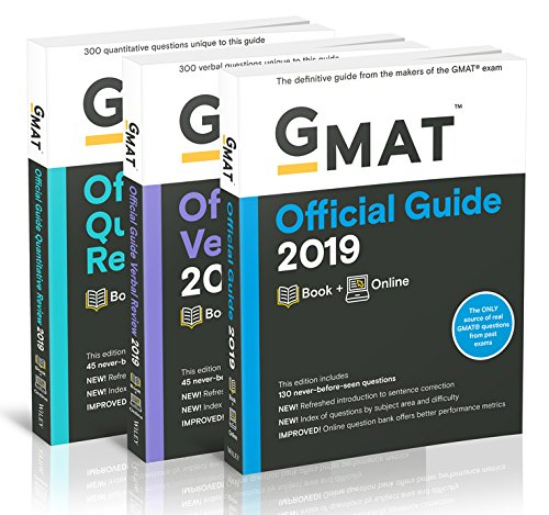 GMAT Official Guide 2019 Bundle: Books + Online by Wiley