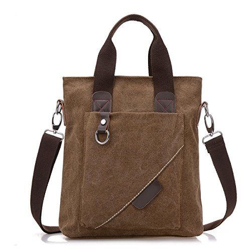 Klassisch Retro Lässig Leinwand College-Tasche Business Bag Ipad Tasche Messenger Bag Umhängetasche,E-OneSize