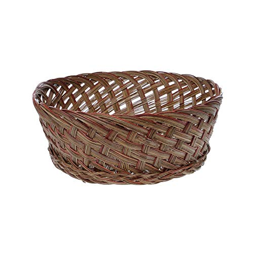 Retail Resource 14131662 12 1/2 x 4 Wicker Gift Basket Natural Coco, (Baskets Wicker Shopping Retail)