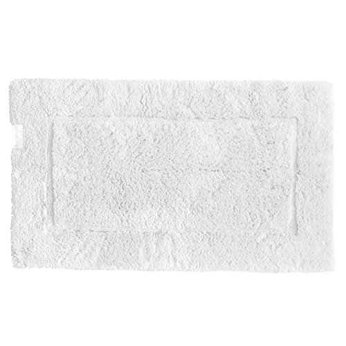 Habidecor Must Bath Rug - Medium (23'' x 39'') White (100) by Abyss Habidecor