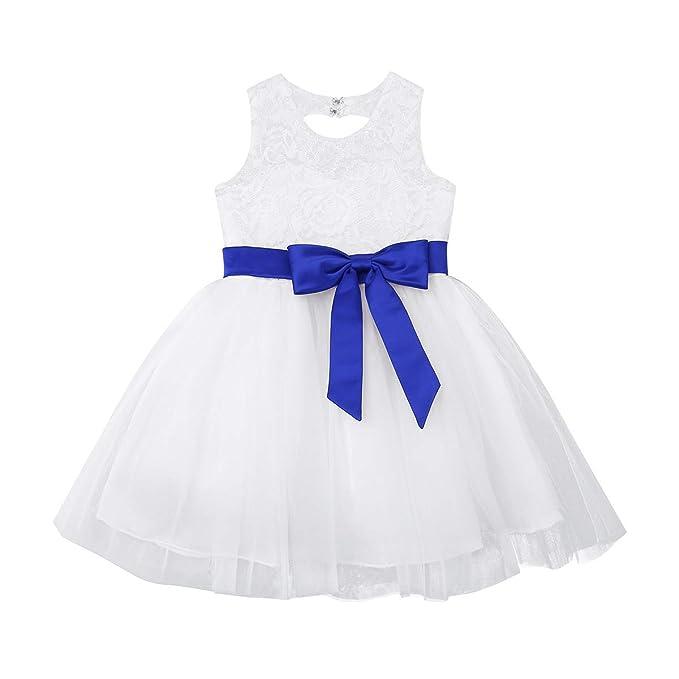 MSemis Vestido de Bautizo Ceremonia para Bebé Niñas Vestidos ...