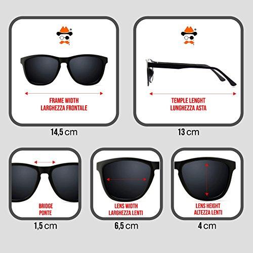 voiture de Nuit Kiss 007 Noir moto JAMES style Lunettes unisexe BOND MASQUE de en de Conduite q11vaT5n