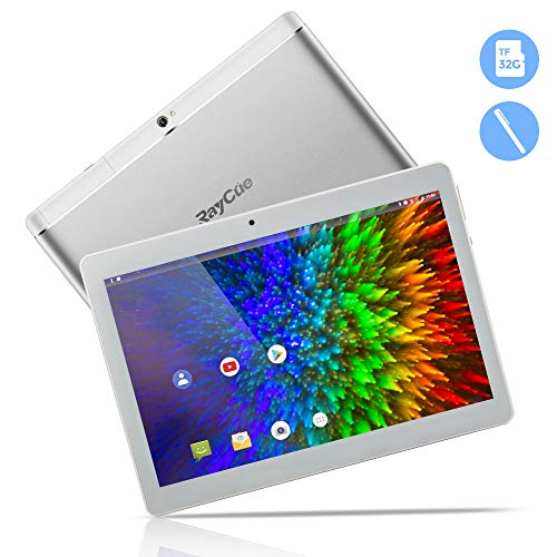 10,1 Zoll 3G Android Tablet, Android 8,1 Quad Core CPU, 32 GB ROM, 2 GB RAM, IPS HD (1280 x 800), entsperrter…