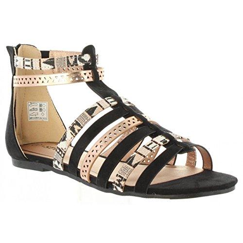 Urban Sandalias de Mujer 391583-B6600 Black