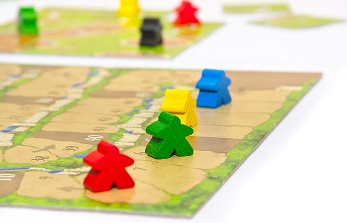 Devir - Carcassonne, juego de mesa (versión en castellano): Amazon.es: Juguetes y juegos