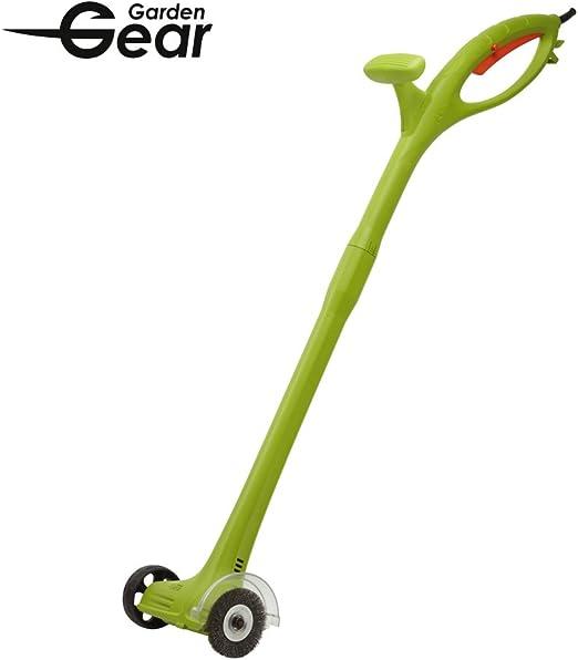 Barredora de césped eléctrica para limpieza de césped, musgo y tierra en patios o pavimentos, 140 W, de Garden Gear: Amazon.es: Jardín