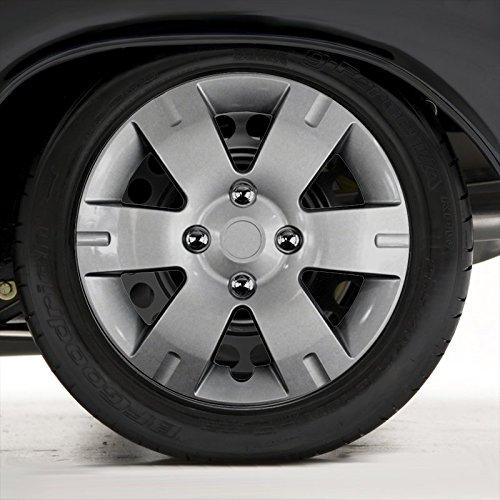 15 Spoke Silver Wheel - 8